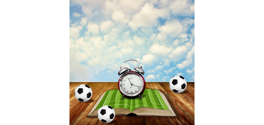 learning soccer at 30 - consult sports literature