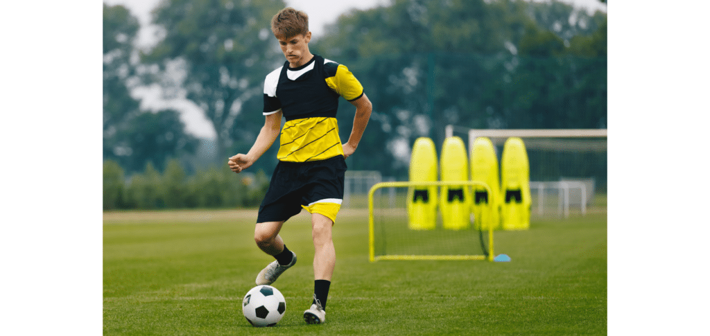 how to become a footballer at 14 - practice time