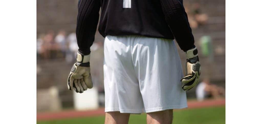 best padded goalkeeper shorts - lightweight