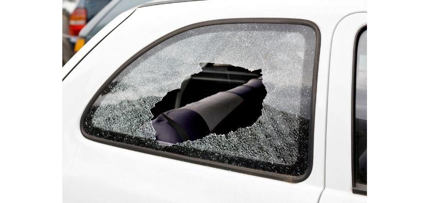 soccer ball car damage - windows and windshield