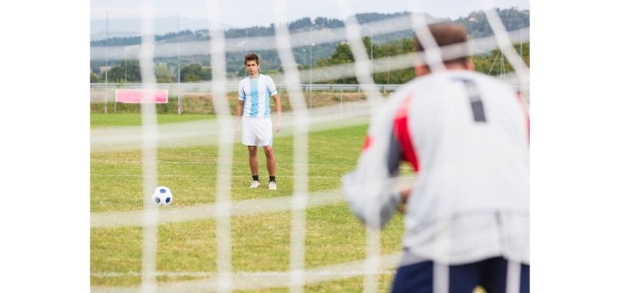 where soccer defenders can score - penalty shootouts