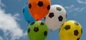 do soccer balls have helium