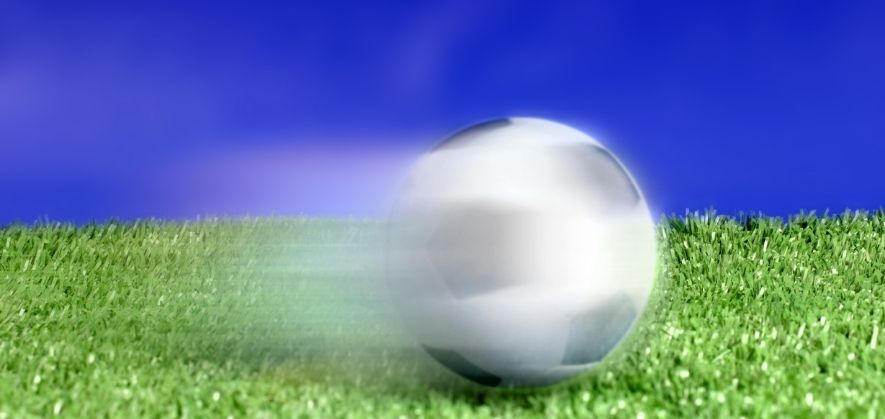 does a soccer ball have energy