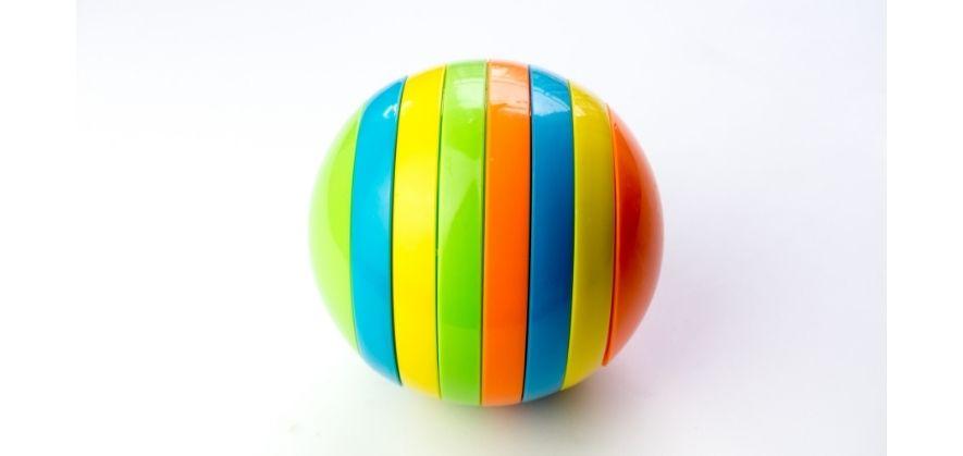 soccer balls floating - sphere shape